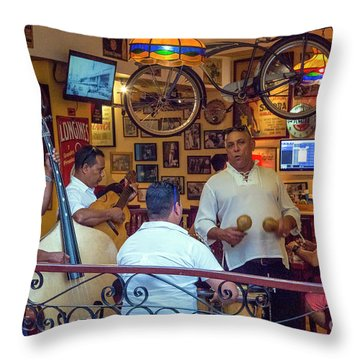 Cuba 0048 Throw Pillow