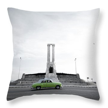 Cuba #1 Throw Pillow
