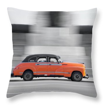 Cuba #2 Throw Pillow