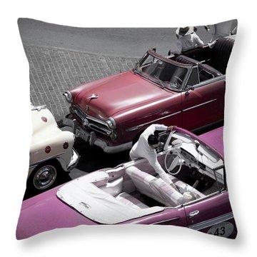 Cuba #3 Throw Pillow