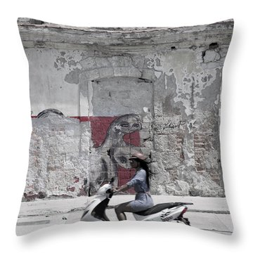 Cuba #5 Throw Pillow