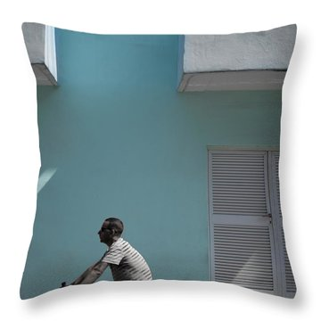 Cuba #6 Throw Pillow