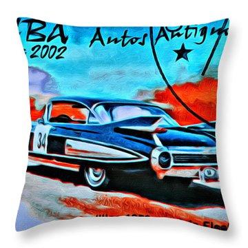 Epoca 1959 Throw Pillows