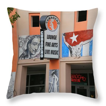 Cubacho Lounge Throw Pillow