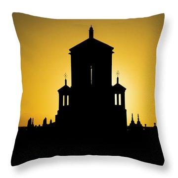 Cuban Landmark. Throw Pillow