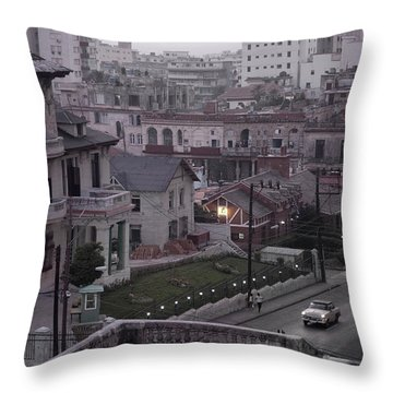 Cuban Life Throw Pillow