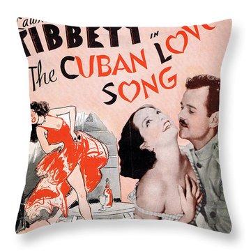 Cuban Love Song Throw Pillow