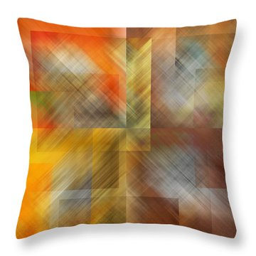 Throw Pillow featuring the photograph Cubic Space by Mark Greenberg