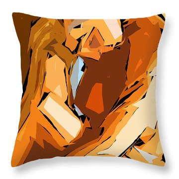 Cubism Series Ix Throw Pillow