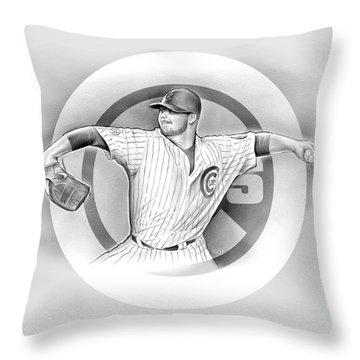 Cubs 2016 Throw Pillow
