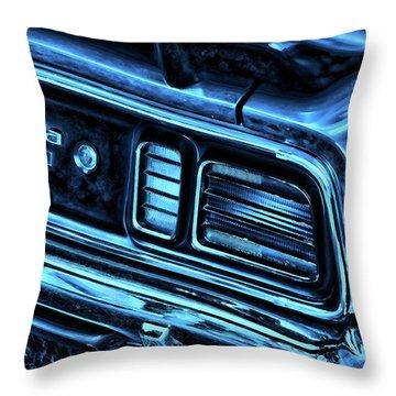 'cuda By Plymouth Throw Pillow by Gordon Dean II