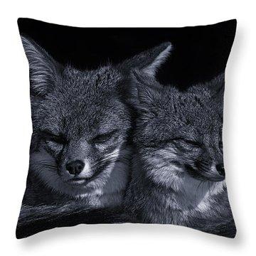 Cuddle Buddies  Throw Pillow