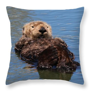 Cuddle Bunches  Throw Pillow