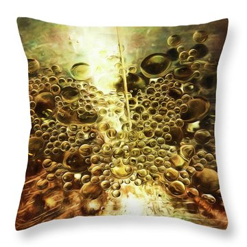 Culinary Abstract Throw Pillow
