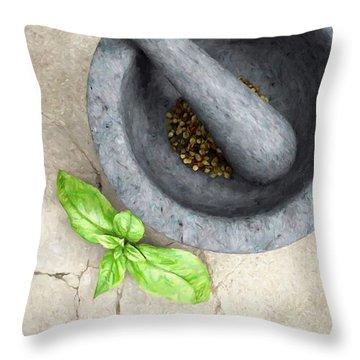 Culinary IIi Throw Pillow