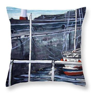Cullen Beacon Throw Pillow by Trudy Kepke