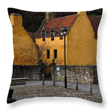 Throw Pillow featuring the photograph Culross by Jeremy Lavender Photography