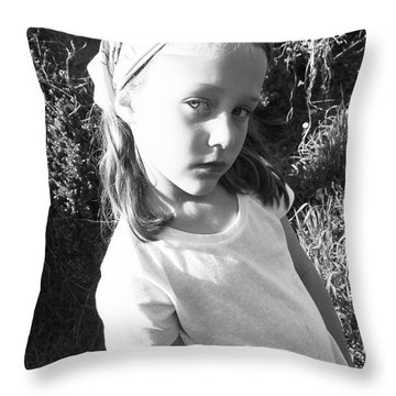 Cult Child Throw Pillow