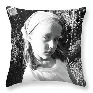 Cult Child Throw Pillow