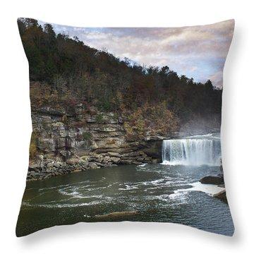 Cumberlland Falls Throw Pillow