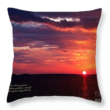 Cumc Solstice Throw Pillow