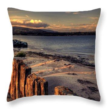 Cunnigar At Sunset Throw Pillow