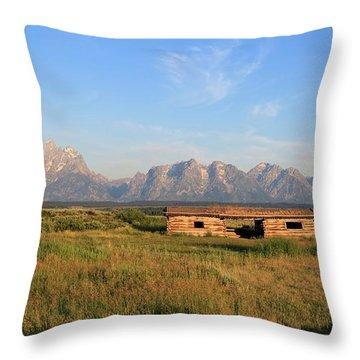 Cunningham Cabin Throw Pillow