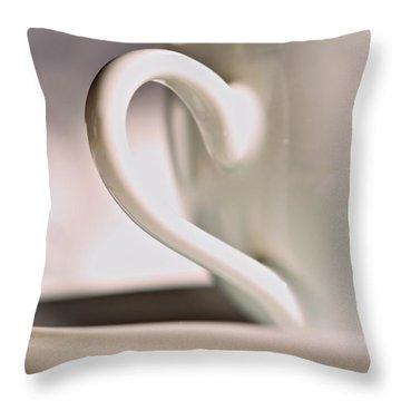 Cup And Saucer Throw Pillow