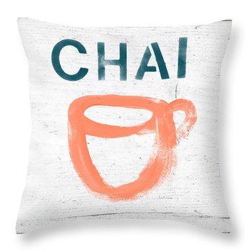 Tea Throw Pillows