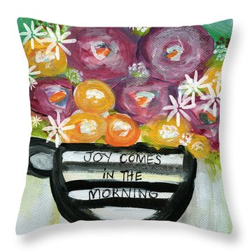 Joy Throw Pillows