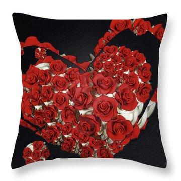Cupcake Love Throw Pillow by Afrodita Ellerman