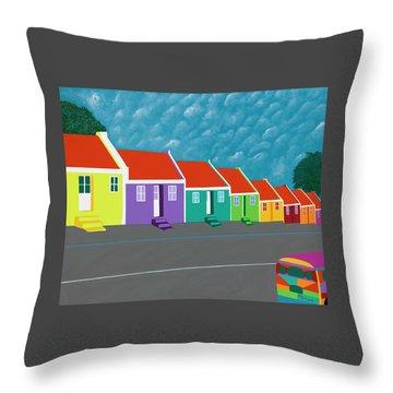 Curacao Dreams IIi Throw Pillow