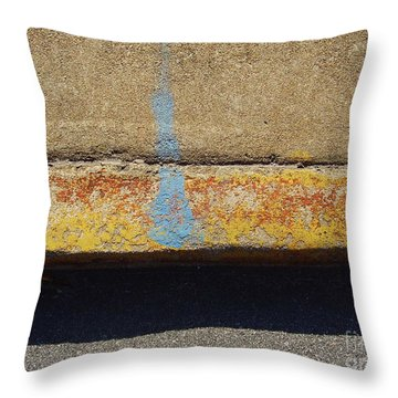 Curb Throw Pillow by Flavia Westerwelle