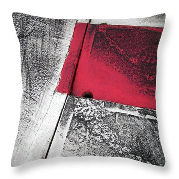 Curbs At The Canadian Formula 1 Grand Prix Throw Pillow