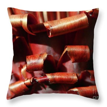 Curl Up And Die Throw Pillow