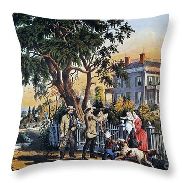 Currier: Country Life Throw Pillow by Granger