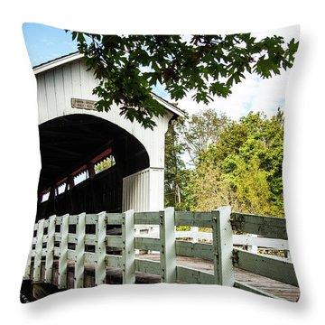 Currin Bridge Throw Pillow