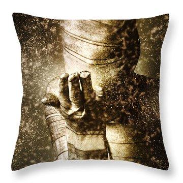 Curse Of The Mummy Throw Pillow
