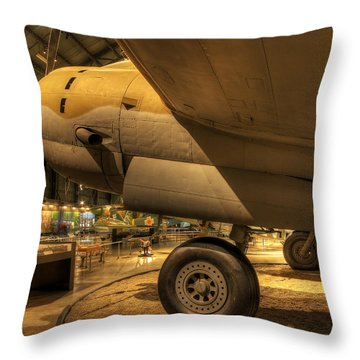 Curtiss C-46d Commando Throw Pillow