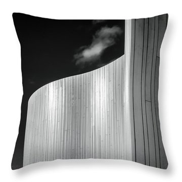 Curve Four Throw Pillow