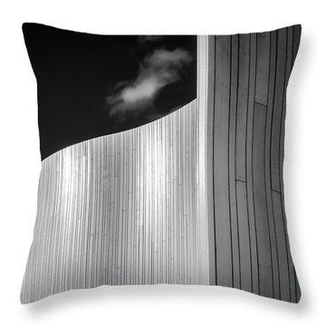 Curve Four Throw Pillow