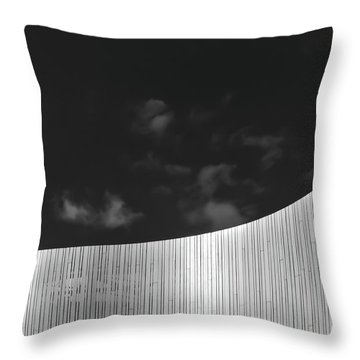 Curve Two Throw Pillow