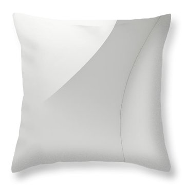 Curved Lines 1 Throw Pillow