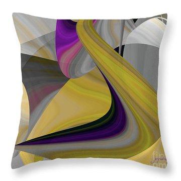 Curvelicious Throw Pillow