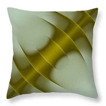 Curves Abstract 003 Throw Pillow