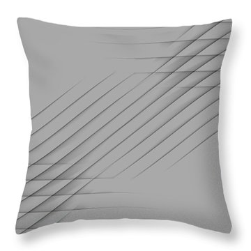 Curves Abstract 010 Throw Pillow