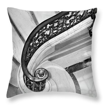 Curves And Light Throw Pillow