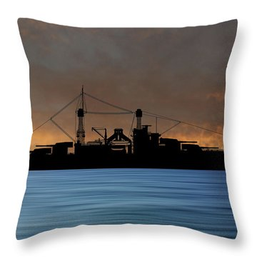Cus Rhode Island 1928 V3 Throw Pillow