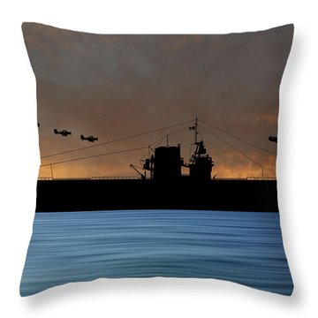 Cus Rhode Island 1929 V3 Throw Pillow