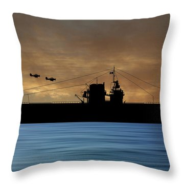 Cus Rhode Island 1930 V2 Throw Pillow